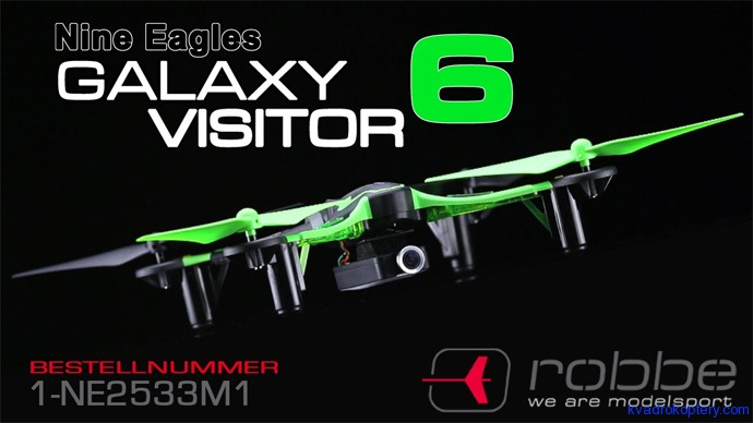 Nine Eagles Galaxy Visitor 6 FPV:  баннер